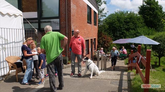 Auch viele ehemalige Tierheimhunde haben uns wieder besucht